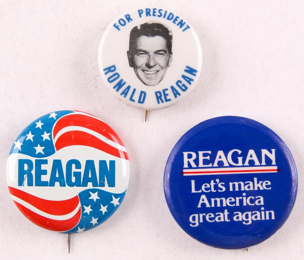 Ronald Reagan Campaign Button
