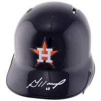 Jose Altuve Signed Houston Astros Full-Size Batting Helmet (Fanatics Hologram & MLB Hologram) at PristineAuction.com