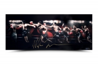 "Mike Tyson Signed ""Roundhouse"" 15x36 Limited Edition Photo (UDA COA)"