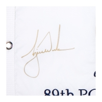 Tiger Woods Signed Limited Edition 2007 PGA Pin Flag (UDA COA) at PristineAuction.com