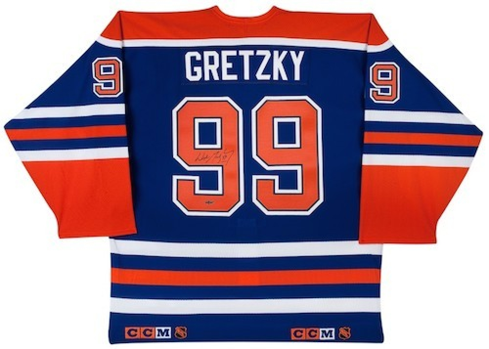 Wayne Gretzky Signed Oilers Jersey (UDA) at PristineAuction.com