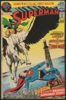 "Vintage 1972 ""Superman"" Issue #249 DC Comic Book"