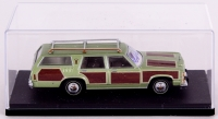 """Chevy Chase Signed """"National Lampoon's Vacation"""" 1979 Wagon Queen Family Truckster 1:43 Die-Cast Car (Beckett COA & Chevy Chase Hologram)"""