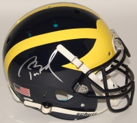 Tom Brady Signed Michigan Wolverines Full-Size Authentic On-Field Helmet (Tristar)