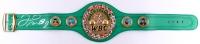 Floyd Mayweather Jr. Signed WBC Championship Belt (Beckett COA)