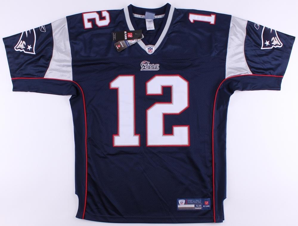 Tom Brady Signed Patriots Authentic Reebok On-Field Jersey (JSA ...