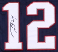 tom brady signed reebok jersey