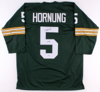 "Paul Hornung Signed Packers Jersey Inscribed ""HOF 86"" (PSA COA) at PristineAuction.com"
