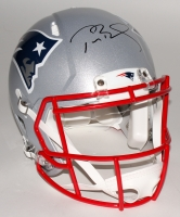 Tom Brady Signed Patriots Full-Size Authentic On-Field Speed Helmet (Steiner COA & TriStar)