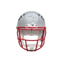 Tom Brady Signed New England Patriots Full-Size Authentic On-Field Helmet (UDA COA) at PristineAuction.com