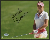 Paula Creamer Signed 8x10 Photo (Beckett COA)
