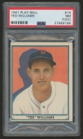 1941 Play Ball #14 Ted Williams (PSA 7) (OC)