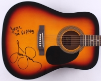 "John Stamos Signed ""Full House"" Full-Size Acoustic Guitar Inscribed ""Jesse & the Rippers"" (JSA COA)"