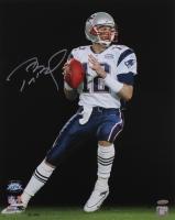 Tom Brady Signed Patriots Super Bowl XXXIX 16x20 Photo (TriStar COA)