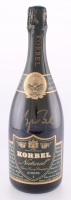 "George W. Bush Signed ""Korbel"" Champagne Bottle from 2001 Inauguration (JSA LOA)"