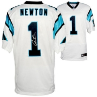 Cam Newton Signed Carolina Panthers Jersey (Fanatics Hologram) at PristineAuction.com