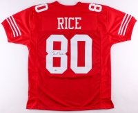 Jerry Rice Signed 49ers Jersey (Beckett COA)