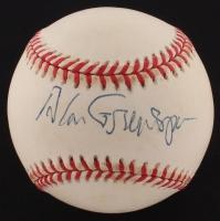 Alan Greenspan Signed OAL Baseball (JSA COA)