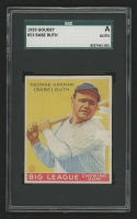 1933 Goudey #53 Babe Ruth RC (SGC Encapsulated)