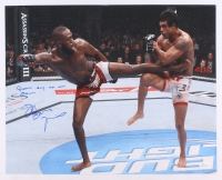 "Jon ""Bones"" Jones Signed UFC 16x20 Photo Inscribed ""Another Day at the Office"" (JSA COA)"