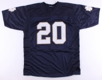 C.J. Prosise Signed Notre Dame Fighting Irish Jersey (Beckett COA) at PristineAuction.com