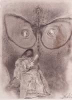 "Salvador Dali ""Biblia Sacre"" 13.75x19 Lithograph"