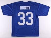 "Ed O'Neill Signed ""Bundy"" Polk High Jersey Inscribed ""4 TD's In 1 Game"" (Schwartz COA)"