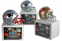 Press Pass Collectibles Mystery Box - Autographed Football Helmet Edition Series 1
