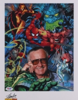 "Stan Lee Signed ""Marvel"" 11x14 Photo (JSA COA)"