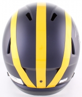 "Charles Woodson Signed Michigan Wolverines Full-Size Speed Helmet Inscribed ""Heisman 97"" (Radtke COA) at PristineAuction.com"