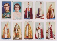 "1937 Player's ""Coronation Series Ceremonial Dress"" Complete Set of (50) Cigarettes Cards at PristineAuction.com"