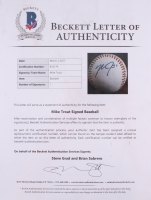 Mike Trout Signed OML Baseball (Beckett LOA) at PristineAuction.com