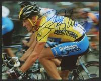 Lance Armstrong Signed 2005 Tour De France 8x10 Photo (Schwartz COA)