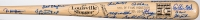 Hall of Fame Baseball Bat Signed by (44) with Sandy Koufax, Willie Mays, George Brett, Yogi Berra, Tony Gwynn, Johnny Bench, Ryne Sandberg, Eddie Murray (JSA ALOA)