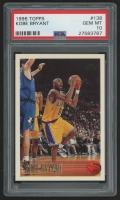 1996-97 Topps #138 Kobe Bryant RC (PSA 10)