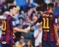 Neymar Signed Barcelona 11x14 Photo (PSA COA) at PristineAuction.com