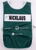 Jack Nicklaus Signed Memorial Caddy Bib (JSA LOA)