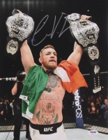 Conor McGregor Signed UFC 11x14 Photo (PSA COA)