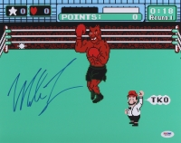 Mike Tyson Signed 'Punch-Out!' 11x14 Photo (PSA COA)