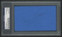 Alan Bean Signed 3x5 Index Card (PSA Authentic)