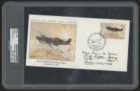 "Lynn Jones Signed ""The Flying Tigers"" 1991 FDC Envelope (PSA Authentic)"