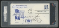 "Stephan Bonner Signed ""The Flying Tigers"" 1990 FDC Envelope (PSA Authentic)"