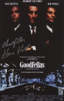 "Henry Hill Signed ""Goodfellas"" 11x17 Photo Inscribed ""Goodfellas"" (Schwartz COA & Hill Hologram) at PristineAuction.com"