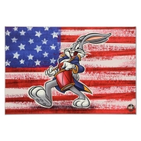 "Looney Tunes ""Patriotic Series: Bugs Bunny"" Limited Edition 20x30 Giclee on Gallery Wrapped Canvas"
