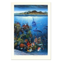 """Robert Lyn Nelson Signed """"Red Sea Sirens"""" Limited Edition 18x27 Mixed Media at PristineAuction.com"""
