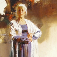 """Pino Signed """"The Matriarch"""" Artist Embellished Limited Edition 16x20 Giclee on Canvas at PristineAuction.com"""