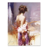 "Pino Signed ""Twilight"" Artist Embellished Limited Edition 18x24 Giclee on Canvas at PristineAuction.com"