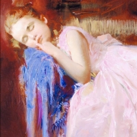 """Pino Signed """"Party Dreams"""" Artist Embellished Limited Edition 18x24 Giclee on Canvas at PristineAuction.com"""