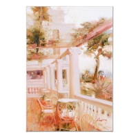 "Pino Signed ""Villa Sorrento"" Artist Embellished Limited Edition 18x26 Giclee on Canvas at PristineAuction.com"