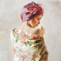 """Pino Signed """"Reflections"""" Artist Embellished Limited Edition 20x40 Giclee on Canvas at PristineAuction.com"""
